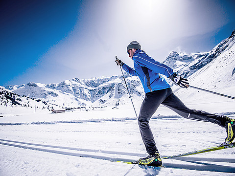 Winter holiday in Gastein - Cross-country skiing